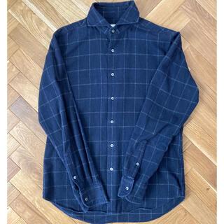 エディフィス(EDIFICE)のエディフィス  ネルシャツ 46 人気色 (シャツ)