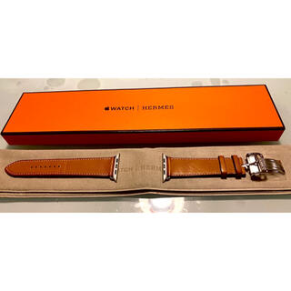 Apple Watch - Apple Watch HERMES 44mm/42mm用 レザーストラップ