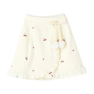 ロディスポット(LODISPOTTO)のミルフィーユクローゼット 新品 チェリースカート(ミニスカート)