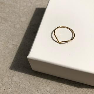 プラージュ(Plage)のシンプルカーブリング 14kgf(リング(指輪))