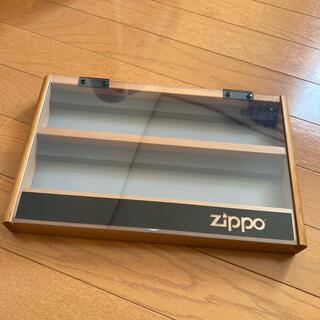 ジッポー(ZIPPO)の【当時もの】zippo ジッポ ディスプレイケース ビンテージ(タバコグッズ)