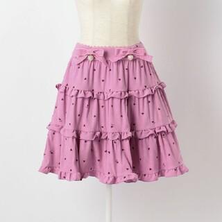 ロディスポット(LODISPOTTO)のロディスポット ティアードスカート 新品(ミニスカート)