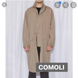 COMOLI - 18ss comoliコモリストームコートstorm coat 2
