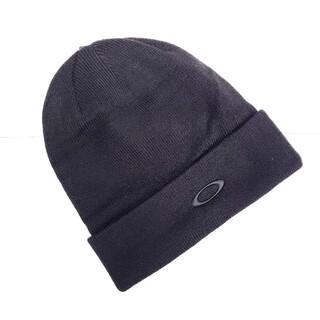 オークリー(Oakley)のOAKLEY オークリー ニット帽 BLACKOUT(ニット帽/ビーニー)