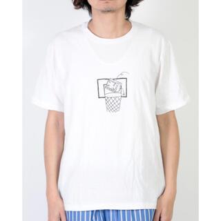 ヤエカ(YAECA)のYAECA  ヤエカ ケンカガミ プリントTシャツ ジャンクデザイン(Tシャツ/カットソー(半袖/袖なし))