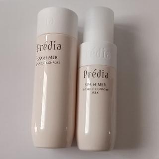 Predia - プレディア スパ・エ・メール リンクルコンフォール 化粧水&乳液&コットン