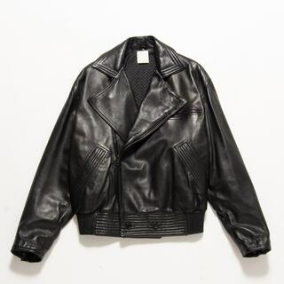 Gianni Versace ダブルライダース ブラック