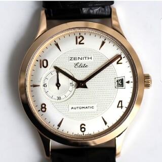 ZENITH - ゼニス クラス エリート 17/62.1125.680 K18PG自動巻 仕上済
