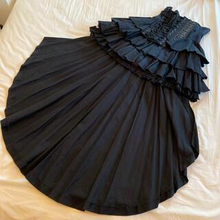 アリスアウアア(alice auaa)のアリスアウアア 変形コルセットスカート 黒(ミニスカート)