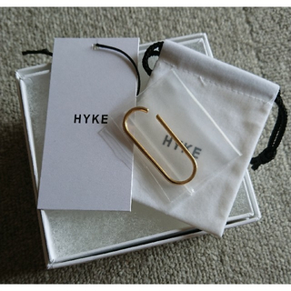 ハイク(HYKE)の新品 HYKE ハイク EAR CUFF/BIG,GOLD (イヤーカフ)