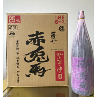 【未開封】紫の赤兎馬 一升瓶6本セット(焼酎)