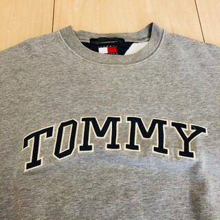 トミー(TOMMY)の最終値下げ❗️TOMMY 古着スウェット ロゴトレーナー(スウェット)