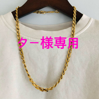 ジバンシィ(GIVENCHY)のGIVENCHY ゴールド ネックレス(ネックレス)