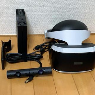 プレイステーションヴィーアール(PlayStation VR)のPSVR 初期型 カメラ、キャリングケース付き(家庭用ゲーム機本体)