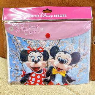 ディズニー(Disney)のディズニー ミッキー ミニー 実写 ソフトケース TDL(キャラクターグッズ)
