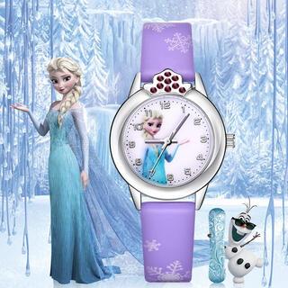 アナトユキノジョオウ(アナと雪の女王)のアナと雪の女王の腕時計☆パープル 新品 SALE中❣️(腕時計)