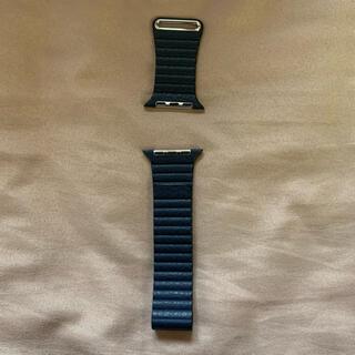 Apple - Apple Watch 42/44mm用純正品レザーループバンド