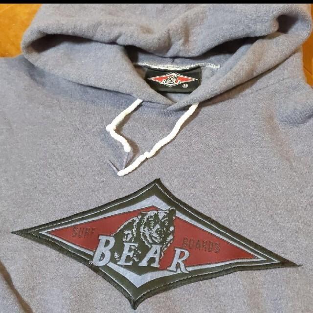 Bear USA(ベアー)のベアー bear パーカー M  古着 ビッグデザイン メンズのトップス(パーカー)の商品写真