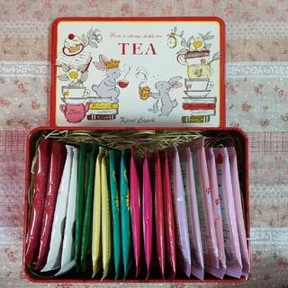 カレルチャペック紅茶店「All About Tea缶 春2021」(茶)