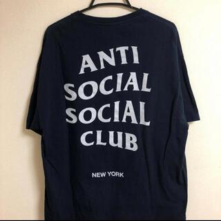 anti social social club ネイビー 限定