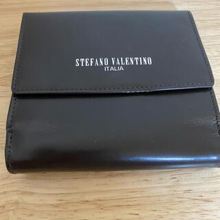 ステファノバレンチノ(STEFANO VALENTINO)の未使用 バレンチノ 折り財布(折り財布)