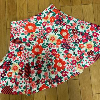 ドーリーガールバイアナスイ(DOLLY GIRL BY ANNA SUI)のドーリーガールバイアナスイ 花柄スカート(ミニスカート)