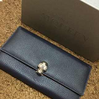 アレキサンダーマックイーン(Alexander McQueen)の新品 アレキサンダーマックイーン 長財布(財布)