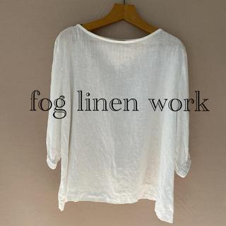 フォグリネンワーク(fog linen work)のfog line work リネンブラウス(シャツ/ブラウス(長袖/七分))