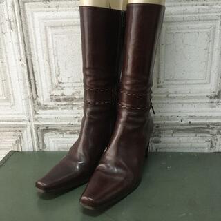 シップスフォーウィメン(SHIPS for women)のイタリア製 FRANCO MARTINI ブーツ USED(ブーツ)