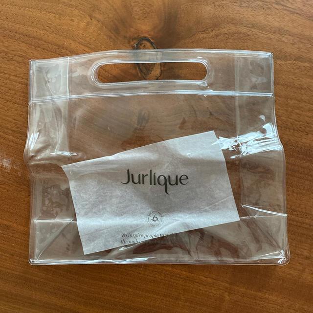 Jurlique(ジュリーク)のJurlique 透明バック 新品 付録 レディースのファッション小物(ポーチ)の商品写真