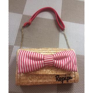 レピピアルマリオ(repipi armario)のレピピ♡去年のカゴバッグ(かごバッグ/ストローバッグ)
