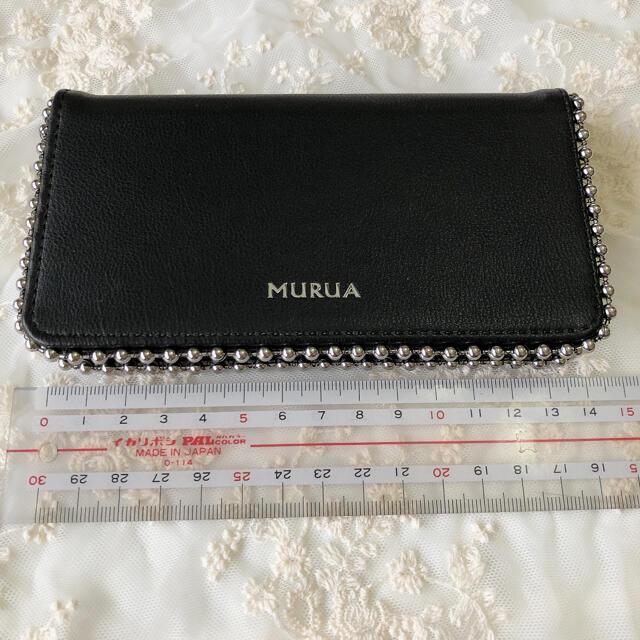 MURUA(ムルーア)のMURUA  ムルーア  iPhoneケース ブラック スタッズ  スマホ/家電/カメラのスマホアクセサリー(iPhoneケース)の商品写真