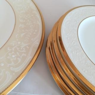 ノリタケ(Noritake)のノリタケ ホワイトパレス 盛皿 1枚ケーキ皿5枚(食器)