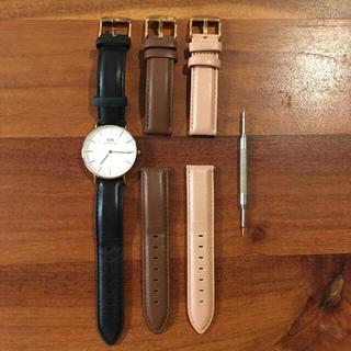 ダニエルウェリントン(Daniel Wellington)の【K'mam様専用】ダニエルウェリントン腕時計、スタイルデリネックレス(腕時計)