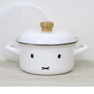 フジホーロー(富士ホーロー)のミッフィー ホーロー キャセロール(鍋/フライパン)