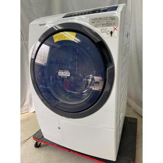 日立 - 日立ドラム式洗濯乾燥機10kg 風アイロン 自動お掃除 BD-SG100BL