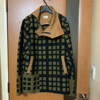 Marni - 激レア 定価23万円『THADEUS O'NEIL』変形襟ウールチェックコート