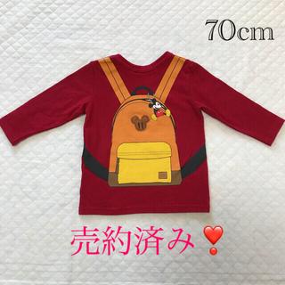 Disney - ディズニー ミッキーマウス ロングTシャツ  女の子 男の子