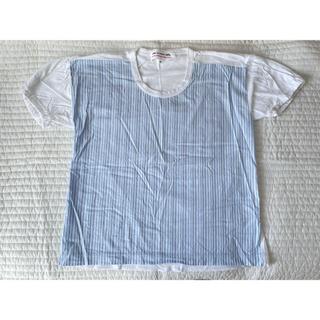 コムデギャルソン(COMME des GARCONS)のコムデギャルソンガール CDG GIRL ストライプ シャツ Tシャツ Sサイズ(Tシャツ(半袖/袖なし))