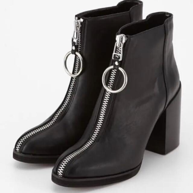 moussy(マウジー)のマウジー moussy  ジップブーツ レディースの靴/シューズ(ブーツ)の商品写真