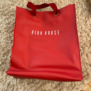 ピンクハウス(PINK HOUSE)のPINKHOUSE♡ビニールバッグ(ハンドバッグ)