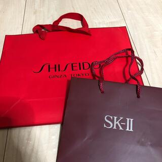 エスケーツー(SK-II)のSK-Ⅱ 資生堂 ショップ袋 ショッパー(ショップ袋)