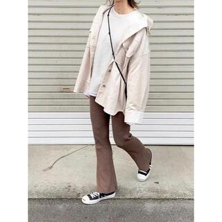 ザラ(ZARA)のコーデュロイオーバーサイズシャツジャケット(シャツ/ブラウス(長袖/七分))