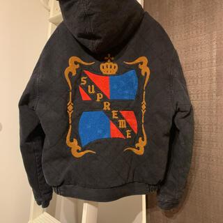Supreme - supreme quilted denim pilot jacket M