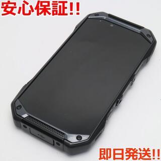 キョウセラ(京セラ)の美品 KYV46 TORQUE G04 ブラック (スマートフォン本体)
