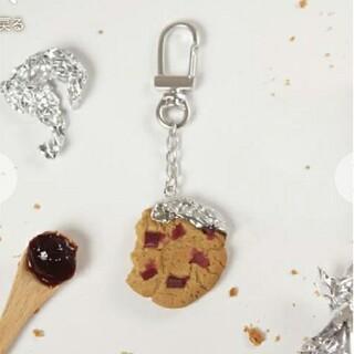 キューポット(Q-pot.)のQ-pot チェリージャムクッキー キーホルダー (チャーム)