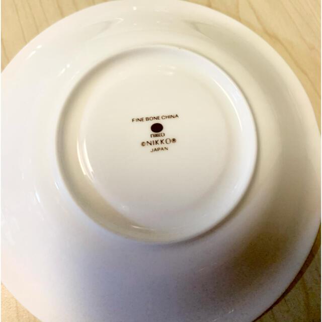 NIKKO(ニッコー)のNIKKO ボーンチャイナ ソーサー2枚 カップ無し 美品 bone china インテリア/住まい/日用品のキッチン/食器(食器)の商品写真