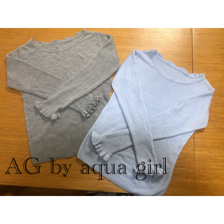 エージーバイアクアガール(AG by aquagirl)のニット(ニット/セーター)