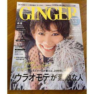GINGER  2020年 11月号(ファッション)