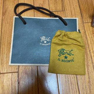 イルビゾンテ(IL BISONTE)のイルビゾンテ袋と巾着(ショップ袋)